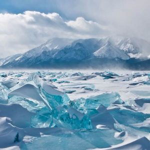 ice hummocks-lake baikal russia-2